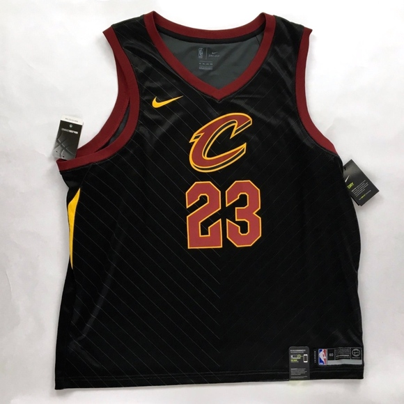low priced cc02e 399f0 Nike NBA Cleveland Cavaliers Lebron James Jersey NWT